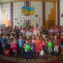Категорійних діточок Черкаського району привітали з прийдешнім Днем Знань