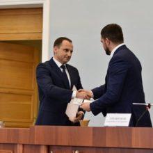 Сергій Трофімов представив новопризначеного голову Черкаської ОДА Романа Боднара