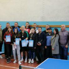 Чемпіонат району з настільного тенісу