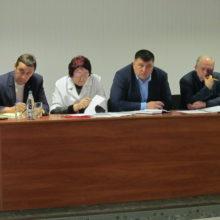 Відбулася зустріч із медичними працівниками районної лікарні с. Мошни