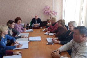 Відбулося засідання комісії райдержадміністрації з питань призначення субсидій та державних соціальних допомог