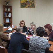 У райдержадміністрації проведено робочу нараду з керівниками структурних підрозділів