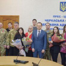 """Черкаських добровольців відзначили нагородами """"Холодний Яр"""""""