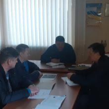 Проведено позачергове засідання комісії з питань ТЕБ та НС