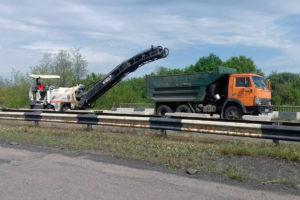 На автодорозі Н-16 у Черкаському районі розпочалися роботи з експлуатаційного утримання шляхопроводу