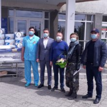 Черкаській ЦРЛ надано благодійну допомогу