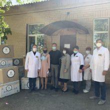 Лікарі Черкаської ЦРЛ отримали засоби індивідуального захисту та обладнання