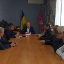 Голова Черкаської РДА провів нараду із сільськими головами