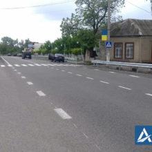 Завершено поточний середній ремонт автодороги Р-10 у селі Мошни Черкаського району