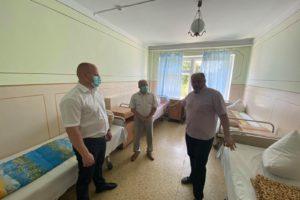 Робочий візит до районної лікарні в с. Мошни