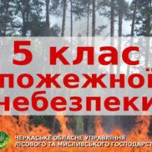 Розводити багаття в лісі – заборонено! На Черкащині надзвичайна пожежна небезпека
