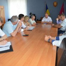 Голова Черкаської РДА Володимир КЛИМЕНКО зустрівся з представниками провідної компанії, що спеціалізується на реалізації проектів з відновлювальних джерел енергії та поводження з ТПВ
