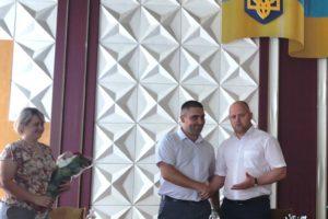 Представили першого заступника голови Черкаської РДА