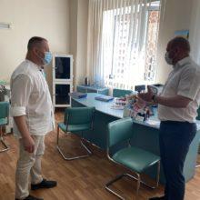 Керівники району з робочим візитом відвідали Черкаську центральну районну лікарню