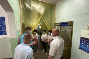 Про інспектування готовності районної лікарні до прийому хворих на коронавірус COVID-19