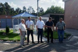 Керівники району відзначили роботу колективів Черкаського району електричних мереж