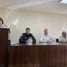 Керівники району привітали працівників національної поліції з професійним святом