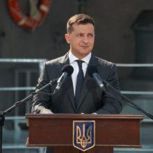 Володимир Зеленський: Зроблю все, щоб український флот був взірцем потужності, сучасності та став справжньою гордістю України