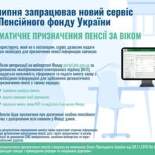 З 1 липня запрацював новий сервіс від Пенсійного фонду України