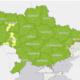 Визначено, які регіони потрапили в червону, жовту, помаранчеву та зелену зони