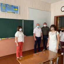 Обстежили стан підготовки освітніх закладів до нового навчального року