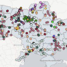 Запрацювала інтерактивна мапа України з позначенням об'єктів інфраструктури, які запроваджені для підвищення безпеки дорожнього руху