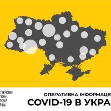 Станом на 10 вересня в Україні зафіксовано 2 582 нові випадки коронавірусної хвороби COVID-19