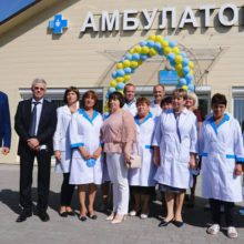 У Степанецькій ОТГ відкрили новозбудовану амбулаторію