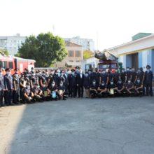 Керівники району взяли участь в урочистих заходах з нагоди Дня рятівника