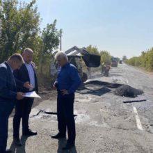 #Великебудівництво: в Черкаському районі проведено ямкові ремонти на автомобільних дорогах місцевого значення