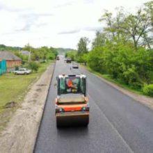 Черкащина увійшла в десятку областей за станом виконання ремонту доріг