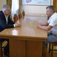 Працюватимемо відкрито та конструктивно, – Сергій Сергійчук на зустрічі з головою обласної ради