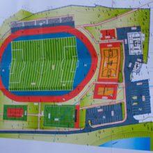 Очільник області оглянув об'єкти спортивної інфраструктури Золотоноші