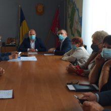 Голова Черкаської РДА Володимир КЛИМЕНКО провів нараду із сільськими головами та головами об'єднаних територіальних громад
