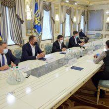 У річницю заснування Організації Об'єднаних Націй Президент зустрівся з координаторкою системи ООН в Україні
