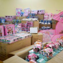 Черкащина отримала майже 4,8 тисяч іграшок для категорійних дітей