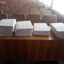 Членам ДВК передано попередні списки  та іменні запрошення виборцям