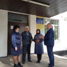 Очільники Черкаського району здійснили робочий візит до Степанківської об'єднаної територіальної громади
