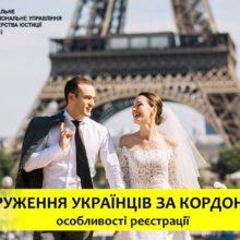 Одруження українців за кордоном: особливості реєстрації