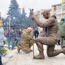 У Черкасах відкрили меморіальний комплекс пам'яті учасників АТО