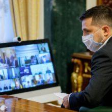Нові карантинні заходи дадуть хороший ефект – Президент під час селекторної наради щодо запобігання COVID-19