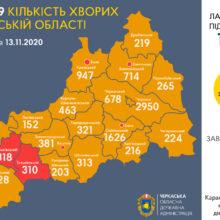 Сергій Сергійчук про епідситуацію в області 13 листопада