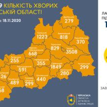 Сергій Сергійчук про епідситуацію в області 18 листопада