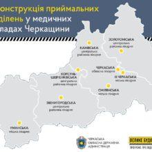 На Черкащині реконструюють приймальні відділення 8 лікарень, – Сергій Сергійчук