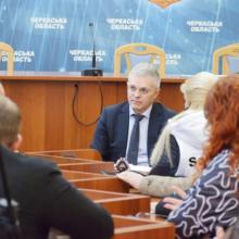 Голова ОДА зустрівся з підприємцями Черкащини