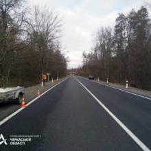У Черкаському районі завершують ремонт дороги Р-10