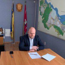 Голова Черкаської РДА Володимир Клименко взяв участь в онлайн-нараді з питань вакцинації
