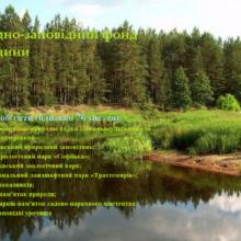 Природно-заповідний фонд Черкащини налічує понад пів тисячі об'єктів