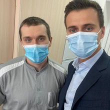 В обласній лікарні вже щепили 80 медиків проти COVID-19, – Олександр Скічко