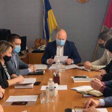 Голова Черкаської РДА Володимир КЛИМЕНКО провів засідання колегії